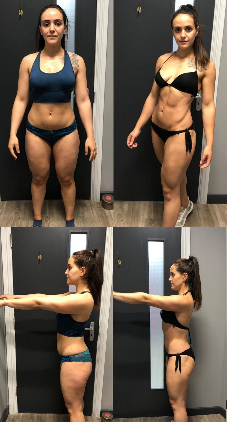 Khandra Dunnage - 12 Week Transformation - Before and After Image